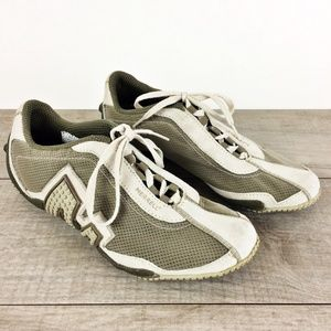 Merrell Relay Fly Dark Taupe Mesh Sneakers Sz 7